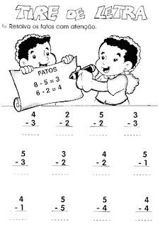 subtracao matemativa