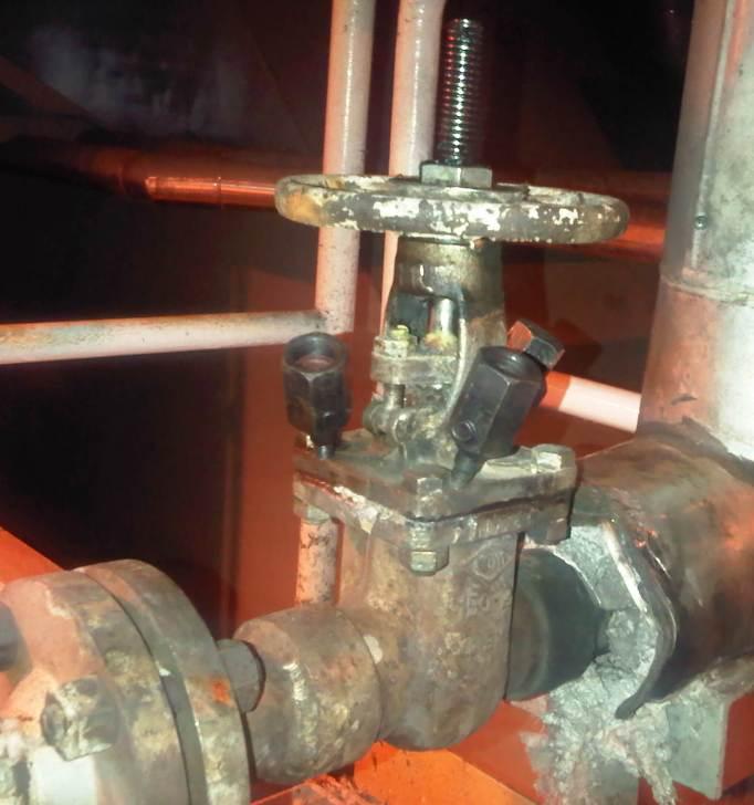 Valve Packing Leak Sealing : Into my world on line leak sealing steam trap isolation valve