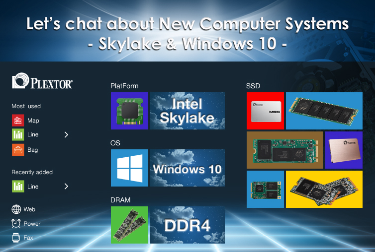 Plextor SSD, Skylake and Windows 10