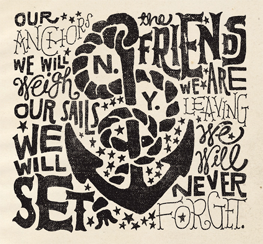 nautical typography