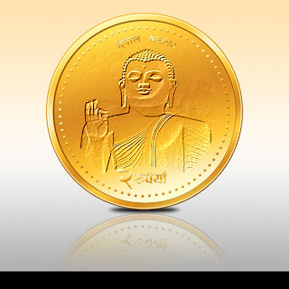 Your Portrait photo in 2 rupee coin