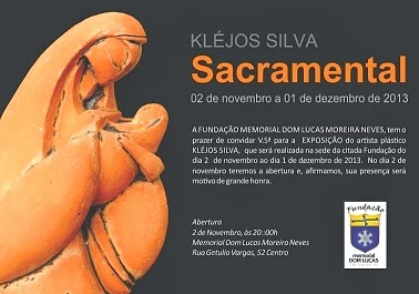 Em Cartaz- Exposição Sacramental Kléjos Silva