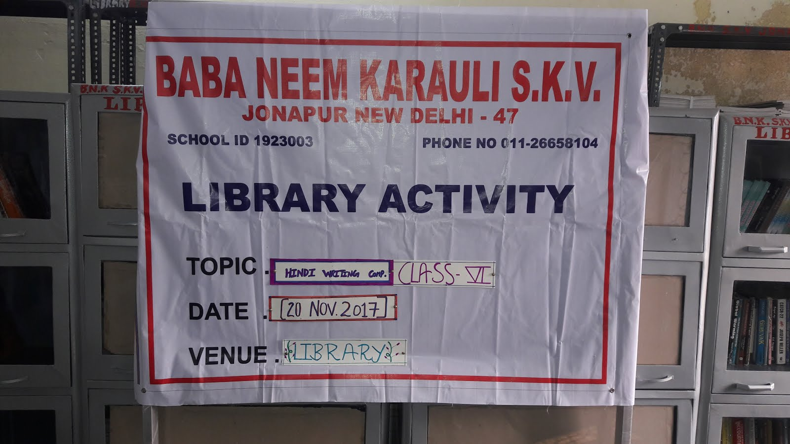 Second Round of Library Activity Week