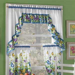 Cortinas con mucho color para la cocina decoracion de for Decoracion de cortinas para cocina