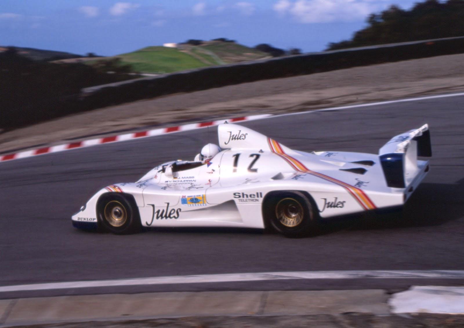 Bruce Anderson 911 Porsche Blog: 936 Race Car