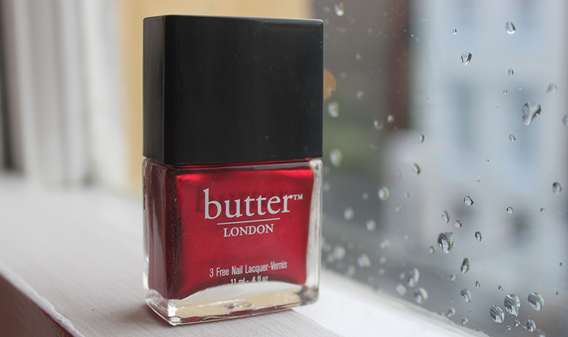 Christmas Nails- Butter London Knees Up - A Little Obsessed