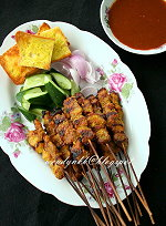 Table for 2.... or more: Penang Hainanese Pork Satay- Penang MFF #9