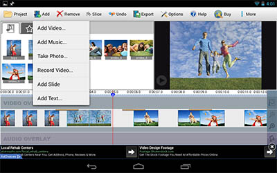 VideoPad Android Video Editing App