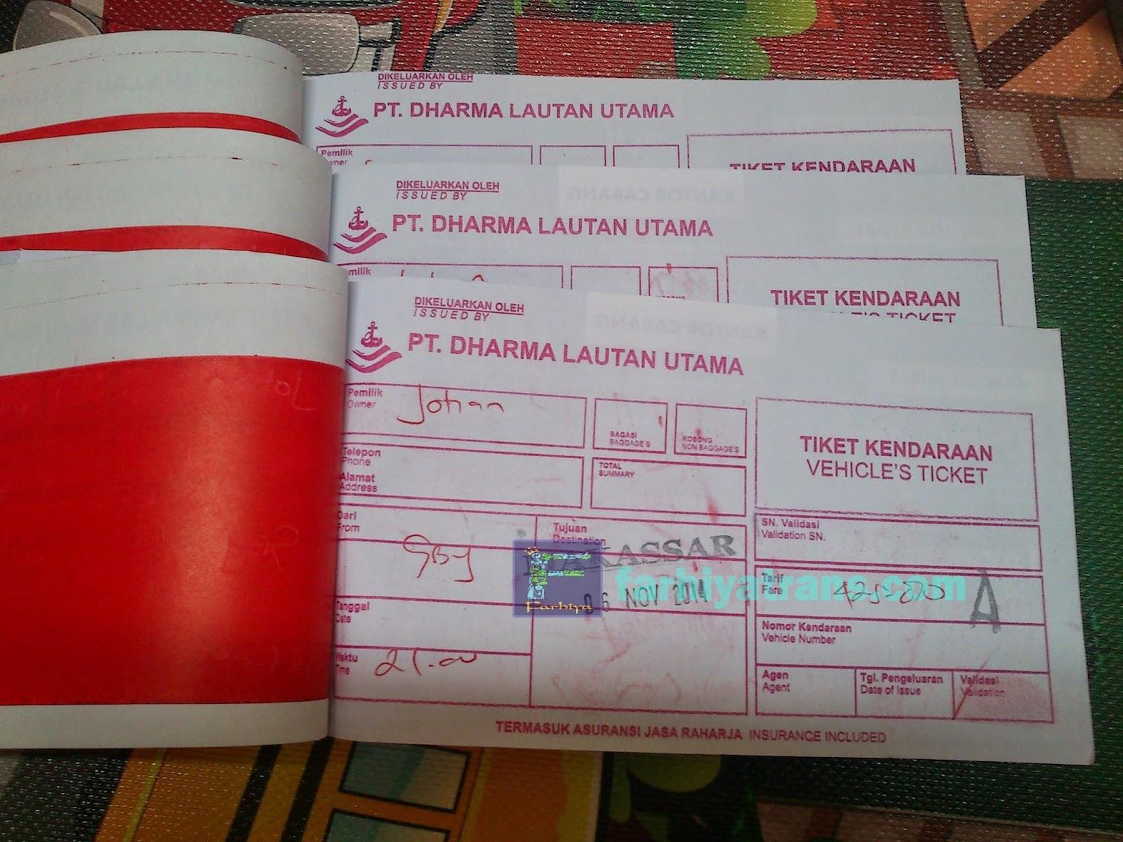 tiket scooter kirim dari surabaya ke makassar dengan kapal cepat
