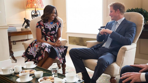 Michelle Obama Offered gifts To Prince George And Princess Charlotte