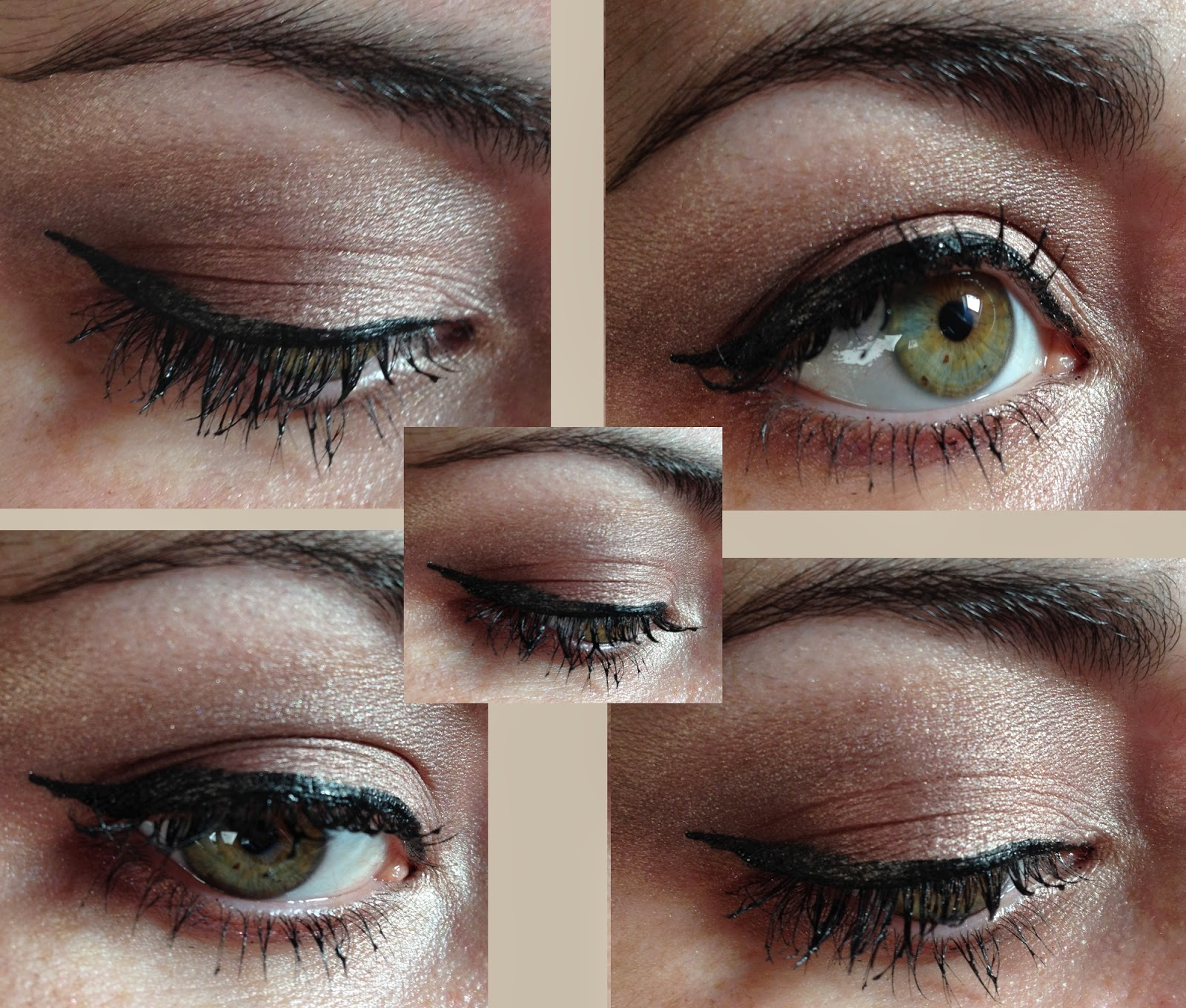 maquillage yeux verts chocolate bar