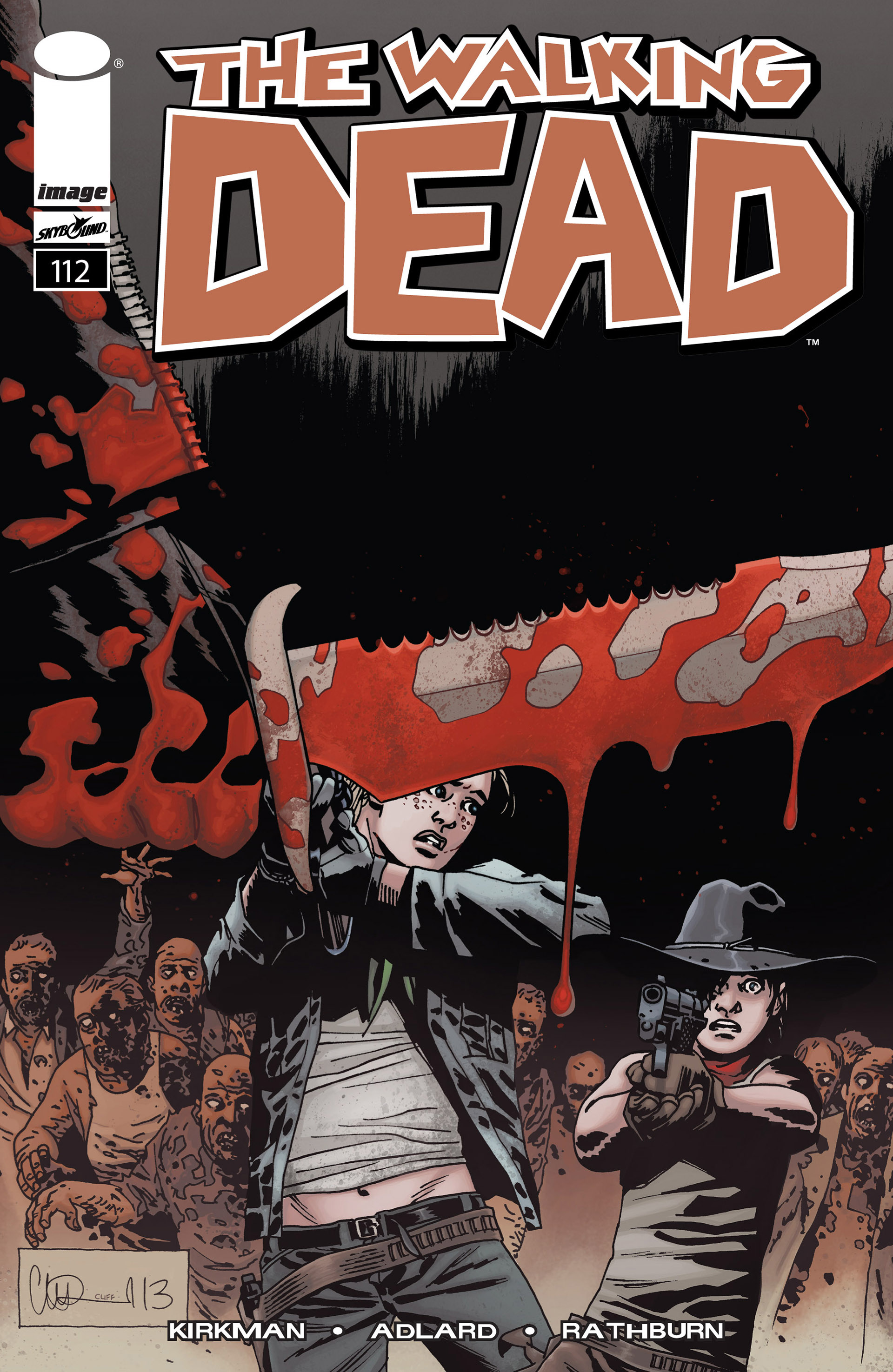 The Walking Dead 112 Page 1