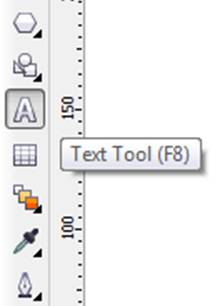 Text Tool di CorelDRAW
