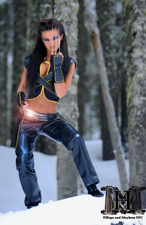 Amber Dawn Orton as Wolverine
