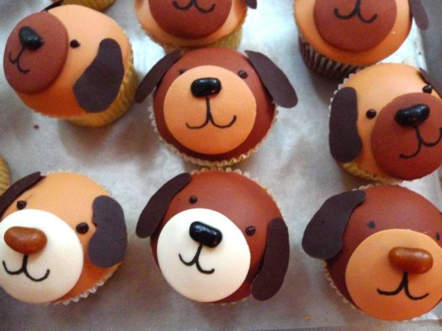 How to Make Puppy Cupcakes