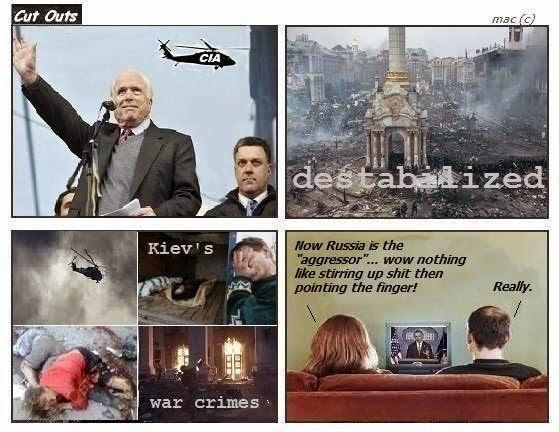 West blames Russia for aggression in Ukraine