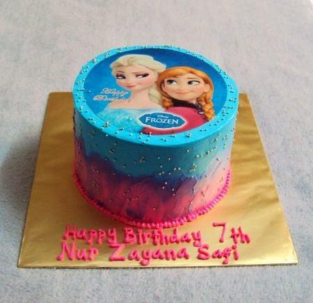 Frozen Cake - Imej