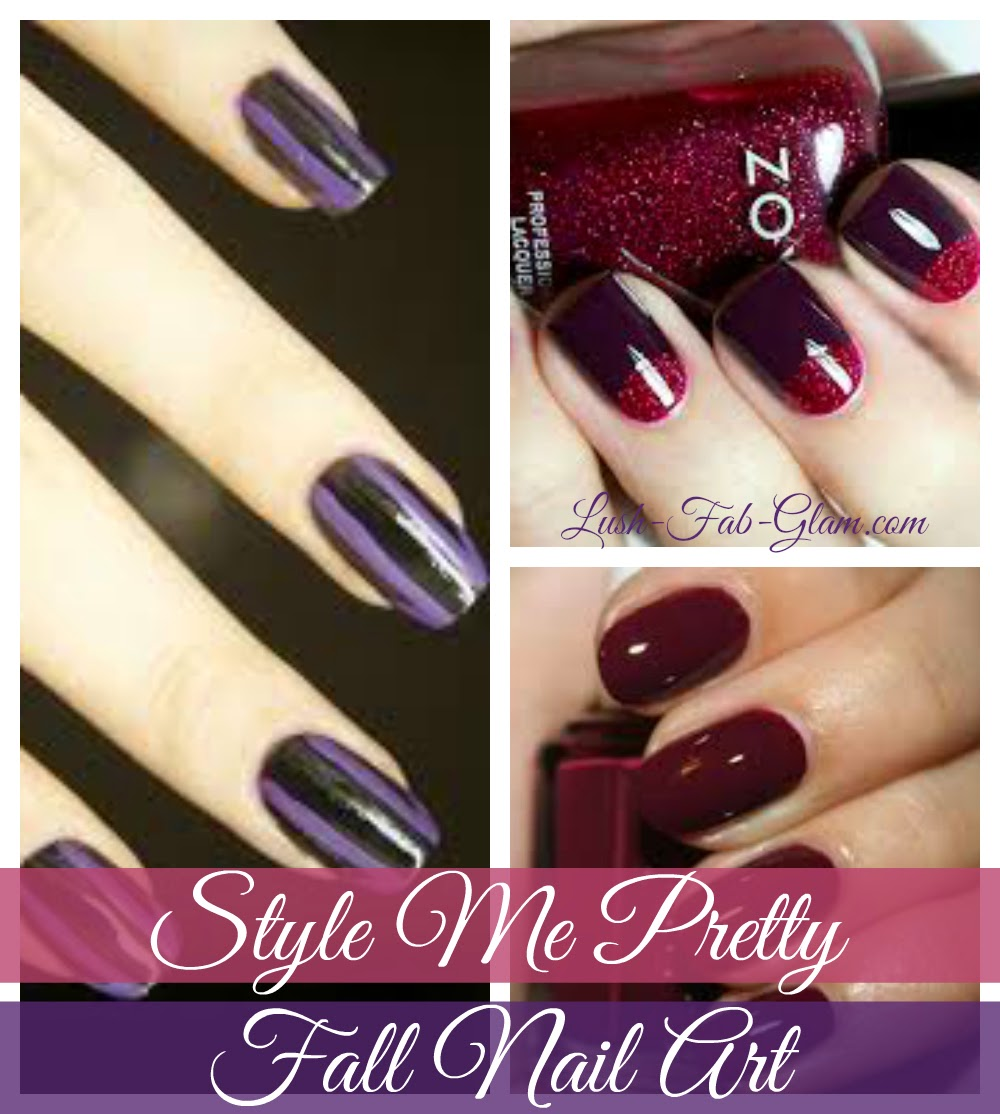 Let your next manicure design and nail polish colors represent the best of the fall season!