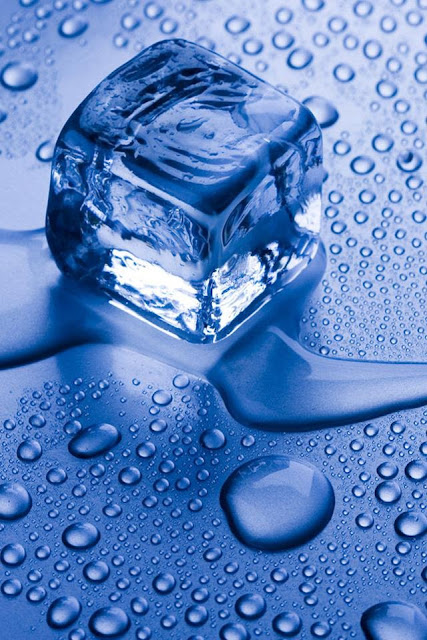 gallery for ice cubes in water wallpaper