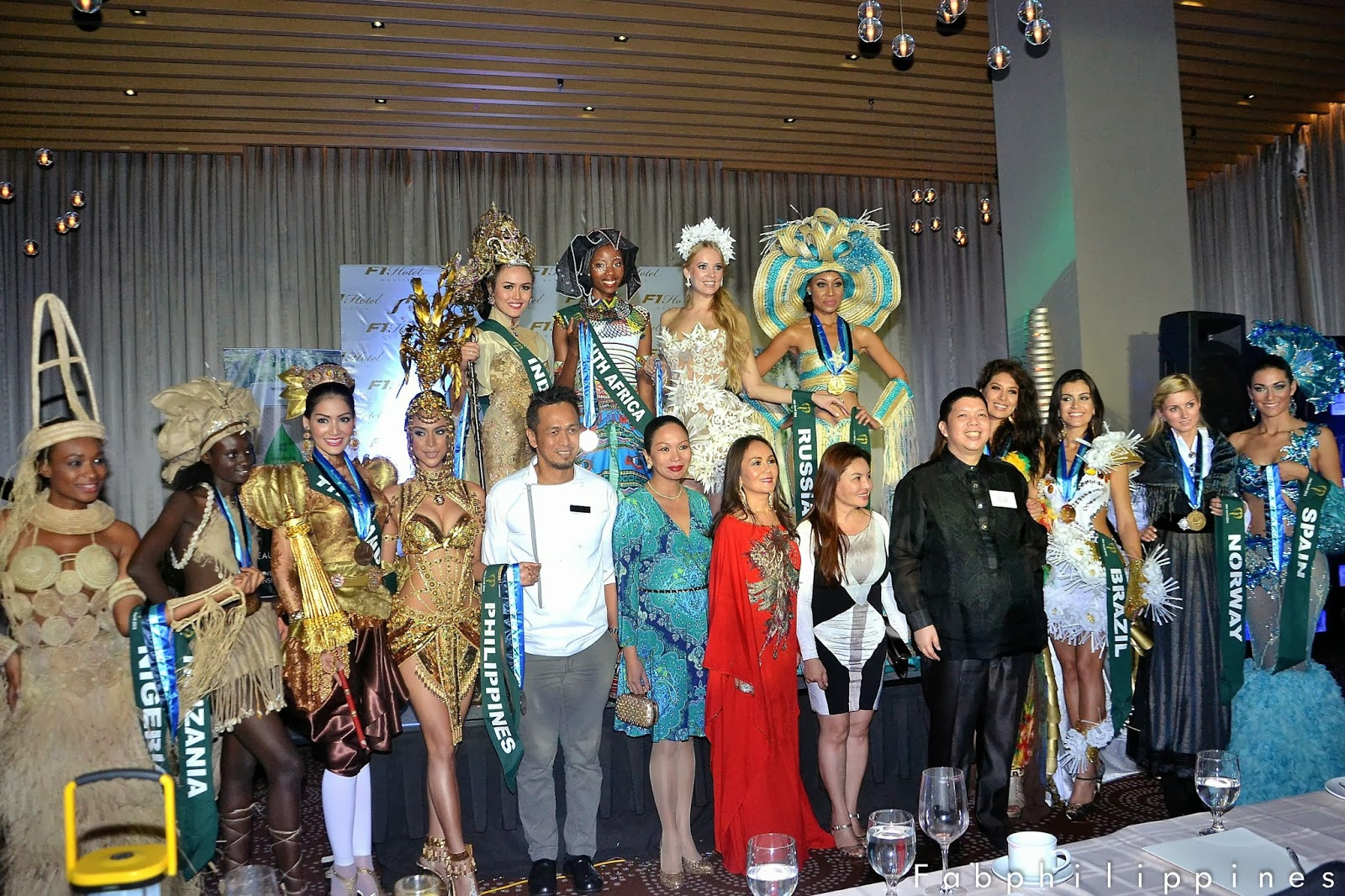 Miss Earth 2013 National Costume Winners