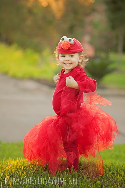 DIY Elmo Halloween Costume Sewing Machines Need Not Apply  sc 1 st  Do Try This at Home & DIY Elmo Halloween Costume: Sewing Machines Need Not Apply | Do Try ...