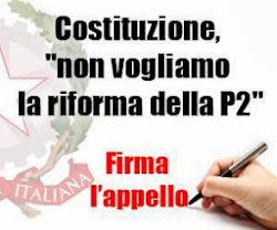 Firma l'appello del Fatto quotidiano contro la riforma della costituzione