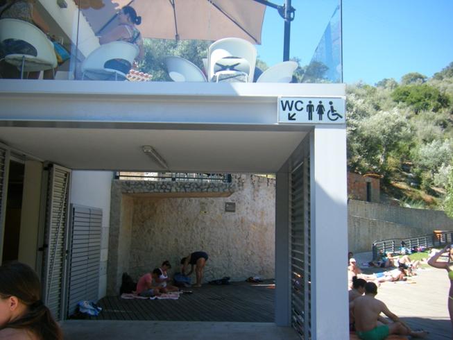 WC da praia