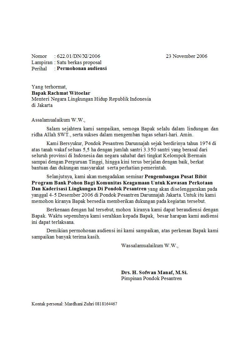 794 x 1123 · 131 kB · jpeg, Contoh Surat Resmi Berbahasa Indonesia