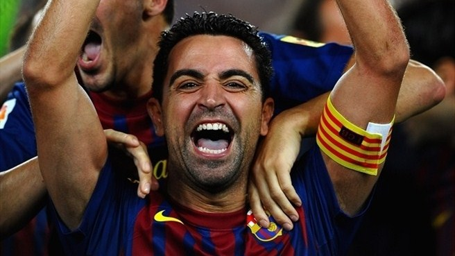 Image result for xavi champions league