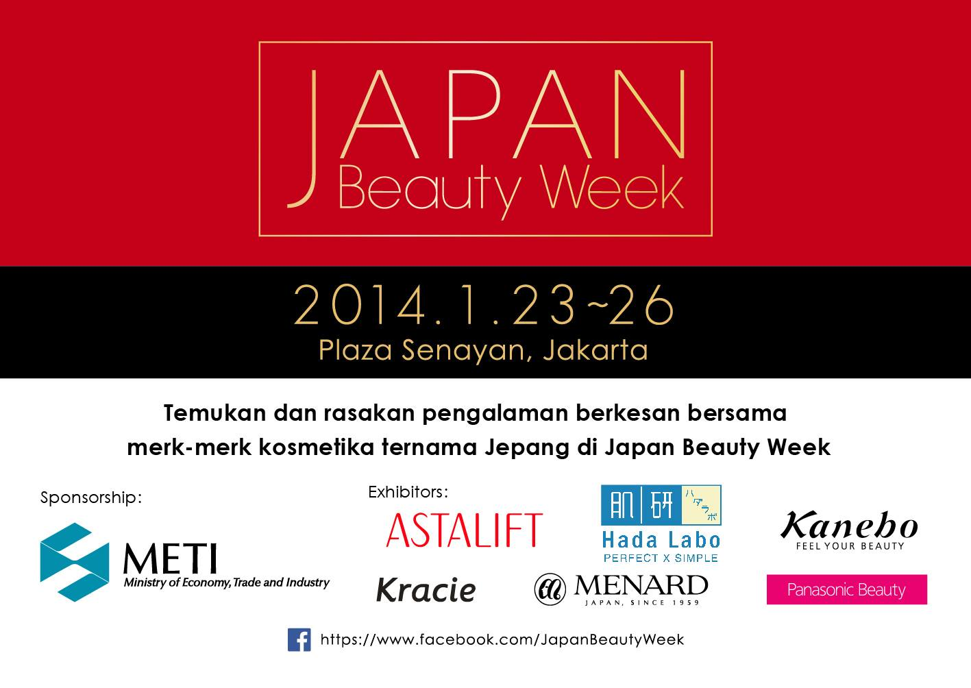Guest Speakers For Japan Beauty Week Plaza Senayan Jakarta Elle Tiket Dewasa Rail 21 Hari And Jess Bloglovin