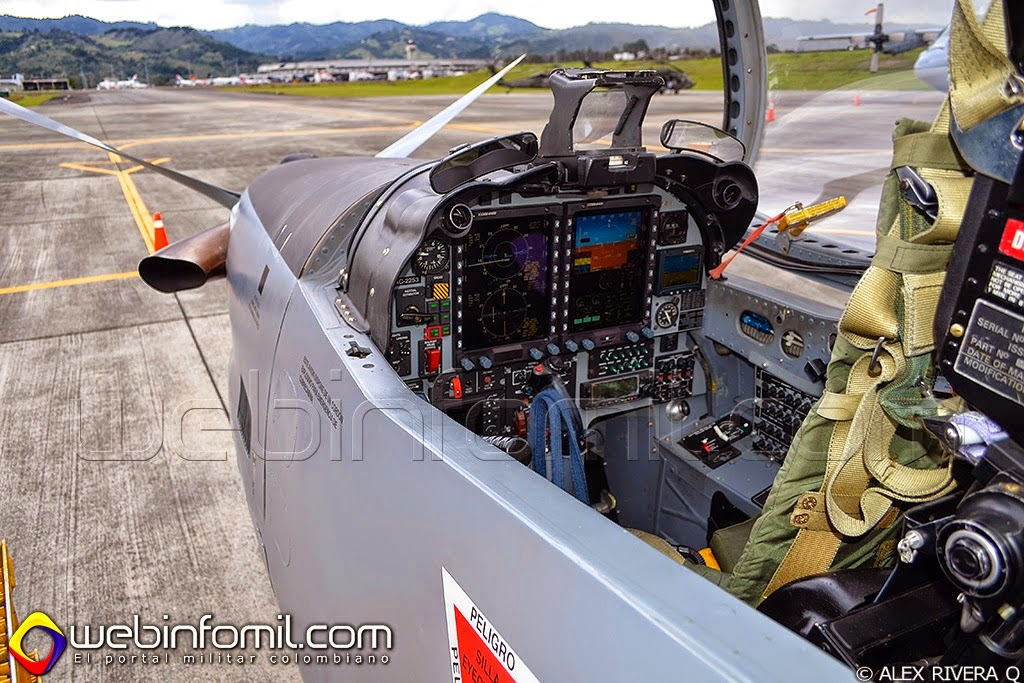 Fuerza Aerea Colombiana Tucano T-27 Modernizacion