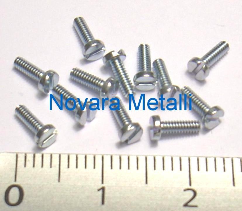 100 microviti Testa Cilindrica M2 M2x6 croce 4.8 viti micro screws vis tornillos