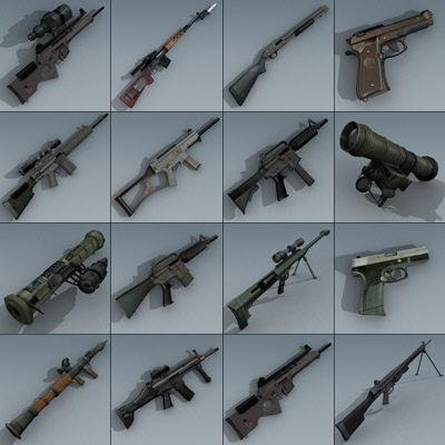 Battlefield 3 Weapons