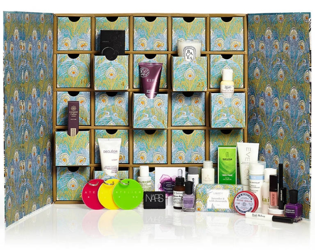 Liberty beauty advent calendar 2014
