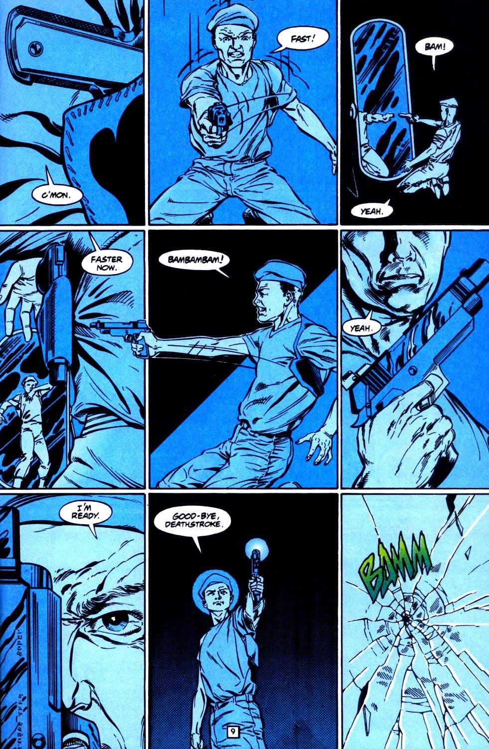 Deathstroke (1991) Issue #35 #40 - English 10