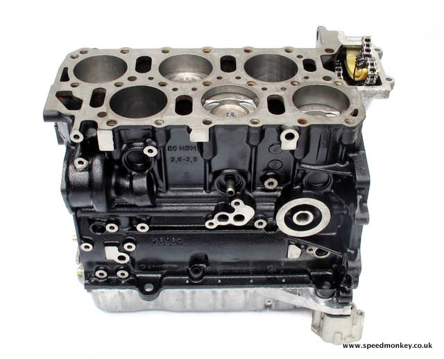 Audi TT 3.2 V6 engine block