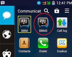 Aplikasi BBM3 Untuk Install 2 BBM di HP Android
