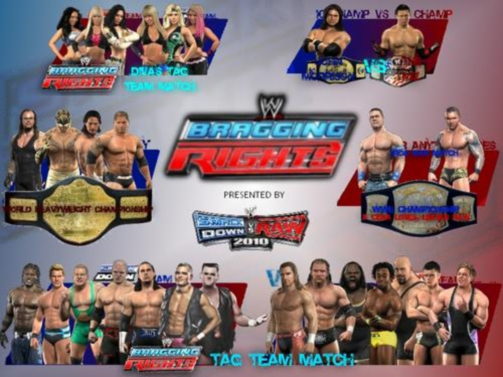 WWE Bragging Rights 2009 Details