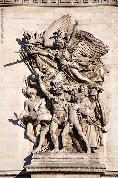 Marseillaise relief
