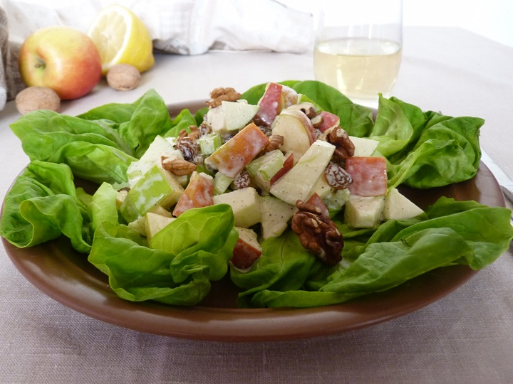 Салатов из сельдерея с яблоками фото