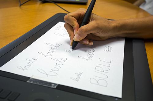 dislessia: Il tablet viene utilizzato per registrare la scrittura