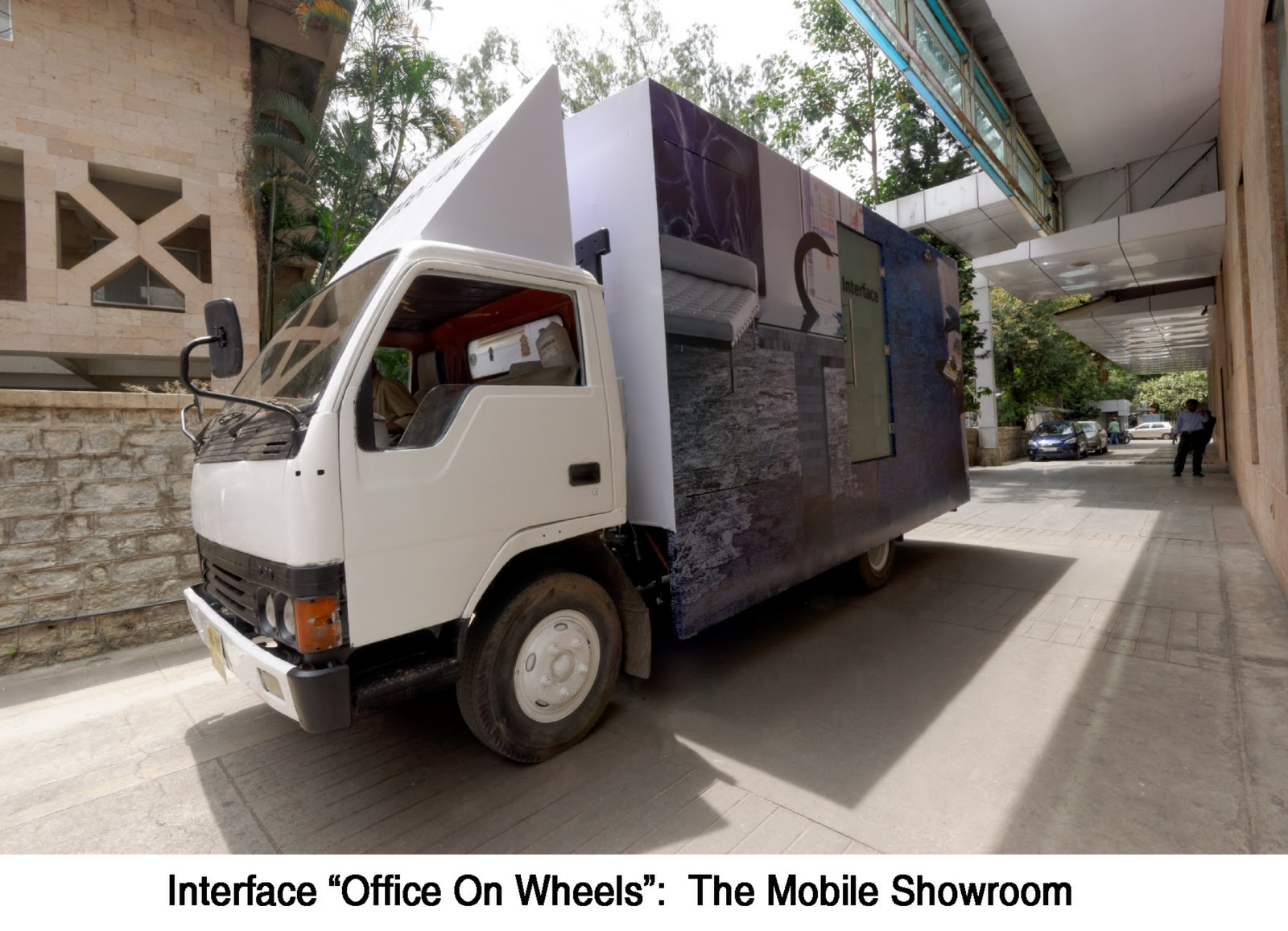 Interface Launches Office On Wheels At Bangalore