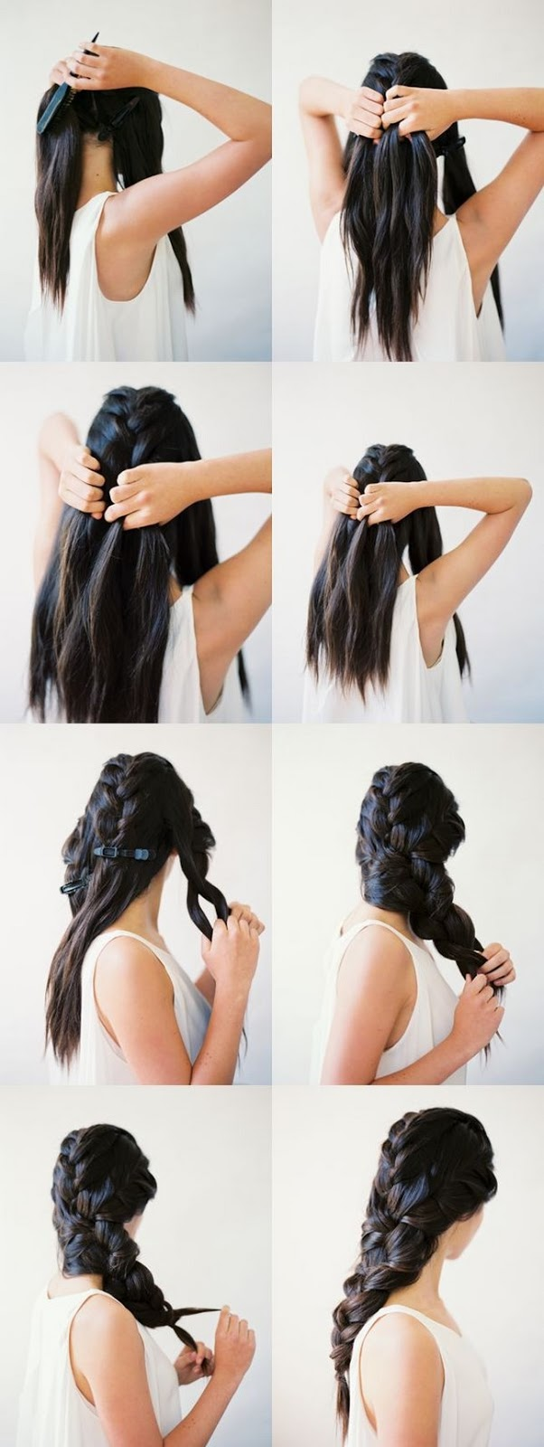 peinados para cabello largo paso a paso