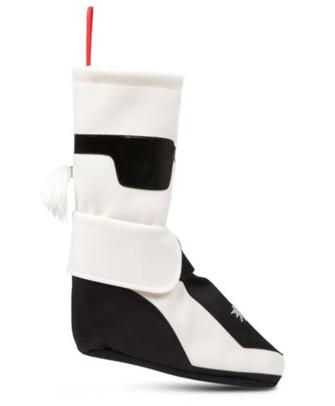 black, white and grey designer christmas stockings for santas gifts