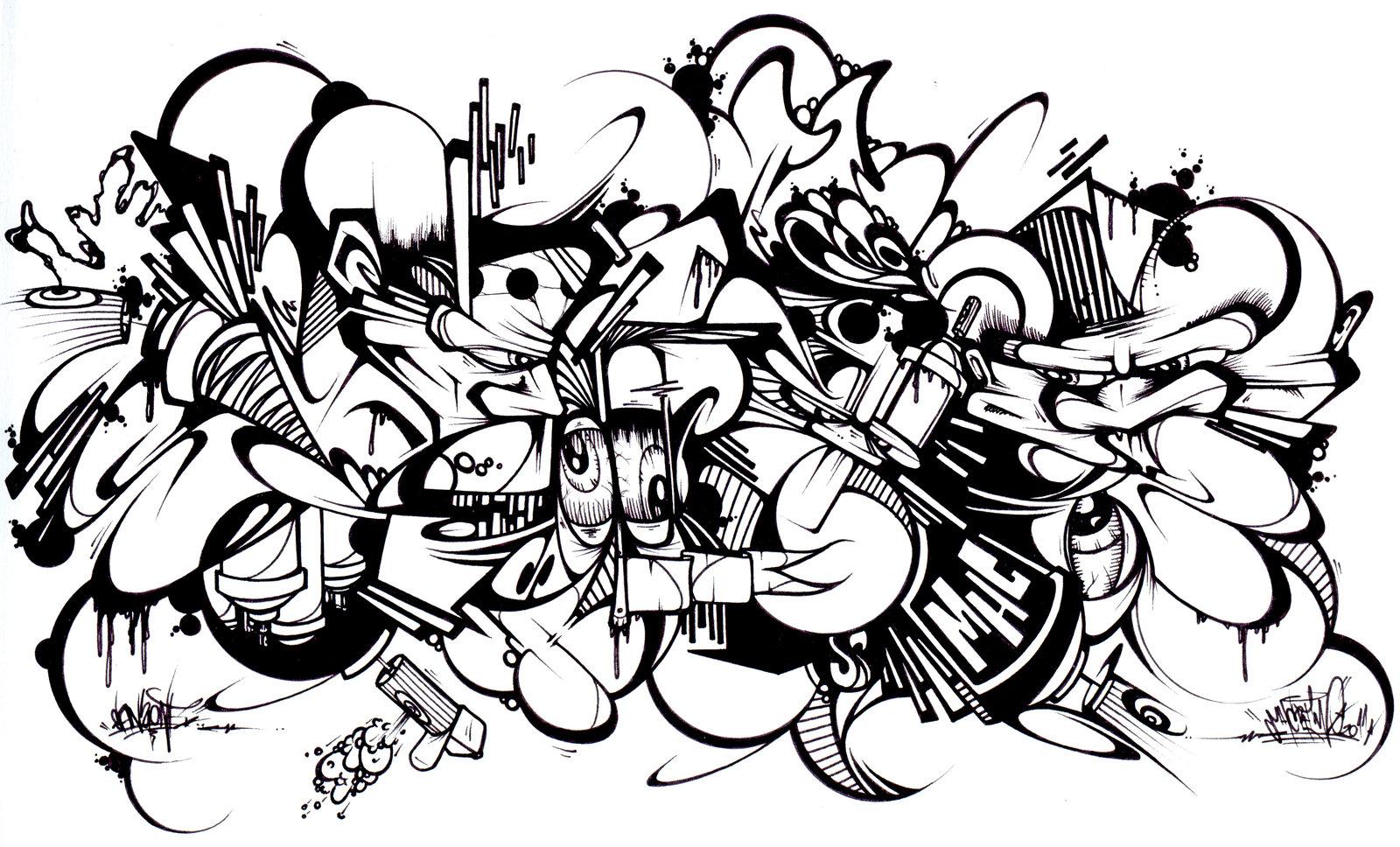 Graffiti Plus Punctuation The BLACKBOOK