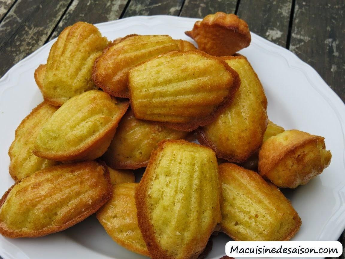 recette des madeleines maison
