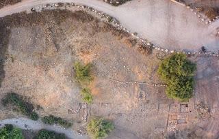 Gate of Goliath City of Gath aerial photo