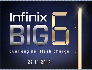 "The Next thing from mobility ""Infinix BIG 6"""