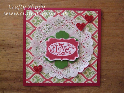 Stampin' Up! doilies