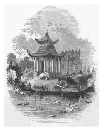 London City The Chinese Pagoda Victoria Park